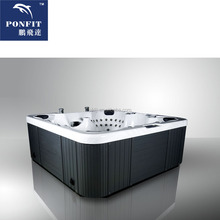 2014 hot sale BIGEER jacuzy outdoor hot tub spa with jacuzzy function(PFDJJ-20)