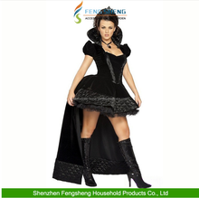2016 The Queen Of Halloween Party Uniforms Female Witch Cosplay Dress