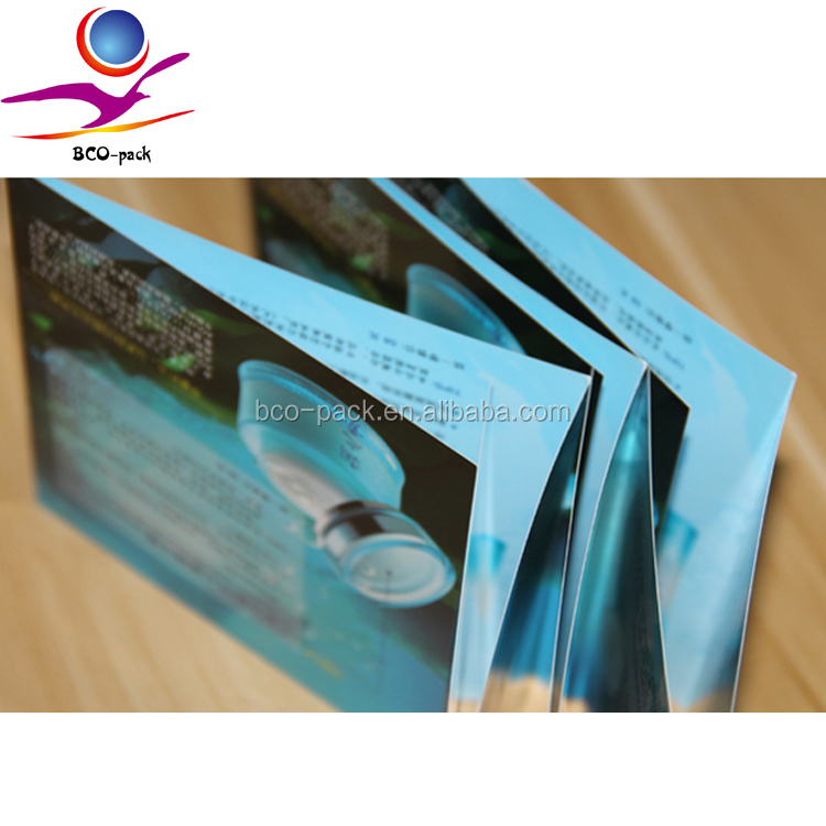 commercial colorful brochure/ booklet /flyer /leaflet printing