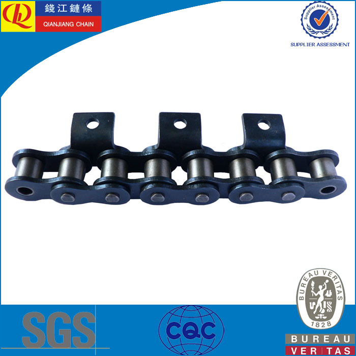 Standard Attachment Chains 08B-A1 Stainless steel short pitch conveyor chain