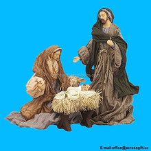 3-piece Holy Family Christmas Nativity Manger Set