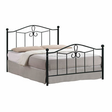 Home furniture Wrought metal double bed