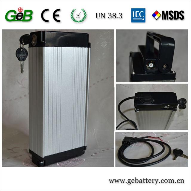 Low price Rear Rack electric bike battery 10Ah 48v lithium ion battery e bike battery 48v