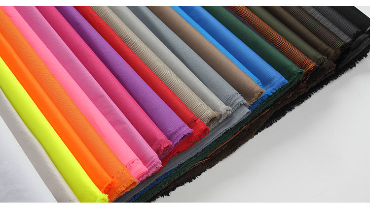 Wholesale PVC PU PE coated 300D 600D 100% polyester flame retardant waterproof outdoor fabric
