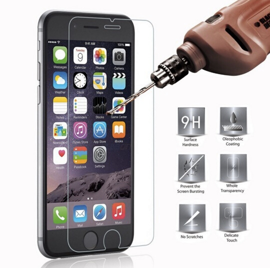 For iPhone 6/6S 0.3mm 2.5D Premium Front Tempered Glass Screen Protector For iPhone 6/6S P-7