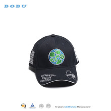 Black Clover man custom golf cap hats foldable baseball cap