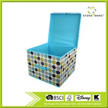 Non-woven Fabric Collapsible Storage Box for Household Using, Cloth/Toy/Gift Storage box