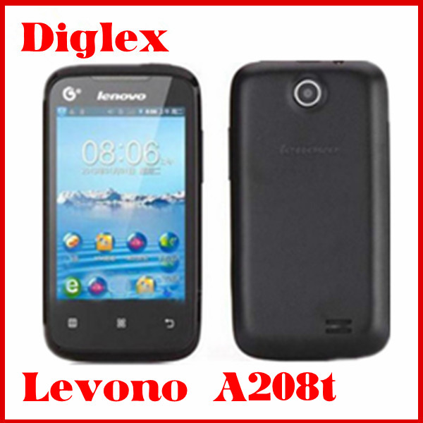 wholesale lenovo A208t lenovo phone cheap phone 3G GPS WIFI