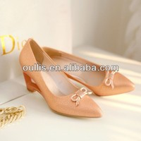 wedge heels shoes for women china low heel CP6485