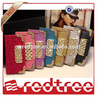 Mobile Phone Sublimation flip leather case for iphone 6