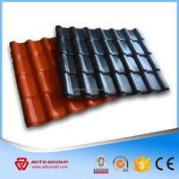 ASA Coated synthetic resin roof tiles