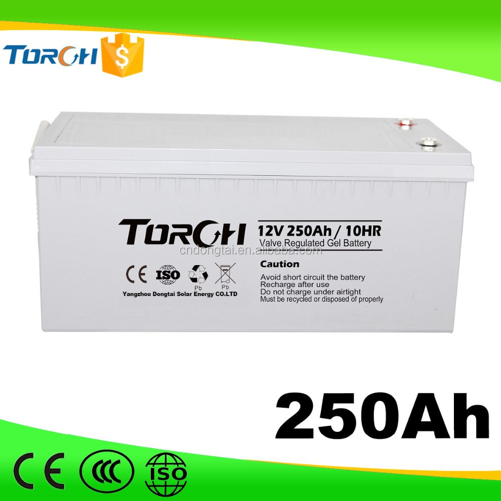 12v 250ah Rechargeable solar storage battery packs wholesale
