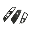 For Veloster Carbon Fiber Window Switch Cover LHD