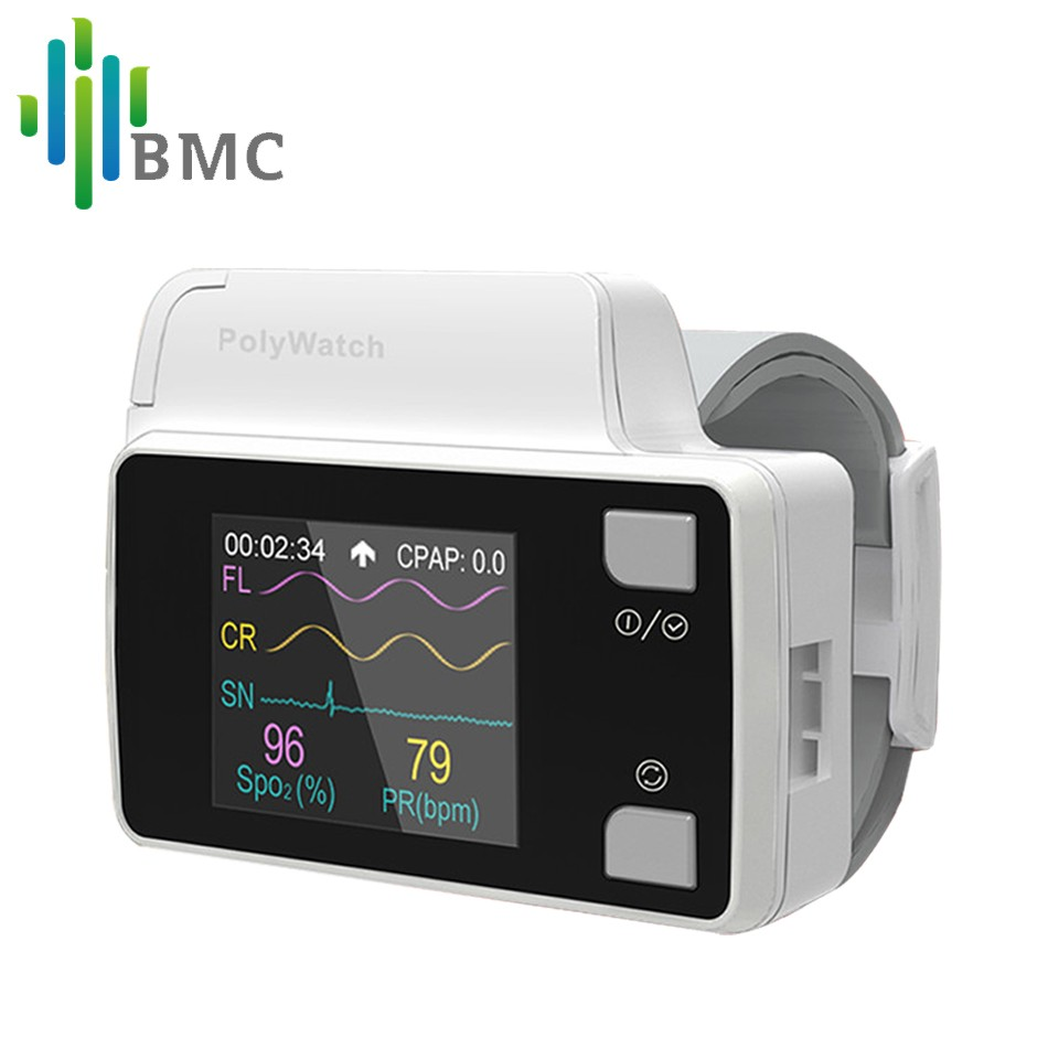 BMC YH-600B PolyWatch For CPAP Sleep Diagnosis With Cannual Patient's Clinical Medical System Home Care Available
