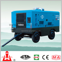 LGCY- 18/17 Energy saving High efficiency Diesel driven portable screw air compressor for mine