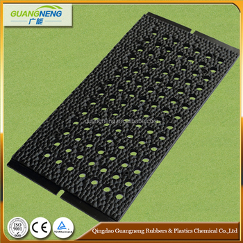 heavy duty Antifatigue rubber pig stable mat environmental friendly promote good hoof