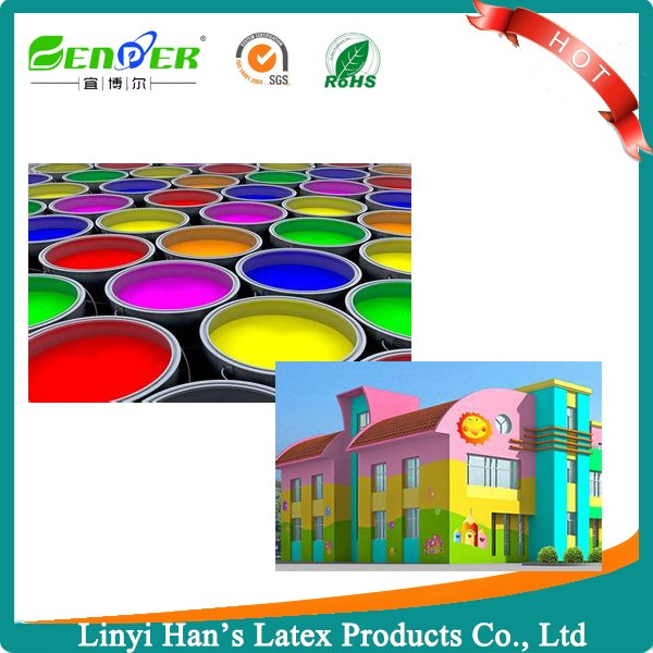 Eco Friendly Liquid Emusion Oil Base Acrylic Exterior