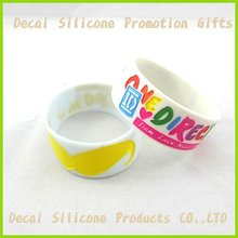 For promotion gifts 1 inch Charming EyeGlass silicone wristband