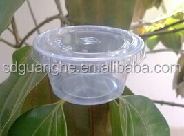 popular restaurant used take away 2oz plastic sauce container, clear PET souffle cup, clear PET tasting cup, 60ml