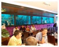 restaurant room divider acrylic wall led light water bubble;screen room divider;