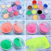 wholesale glitter platinum powder with multicolor offered