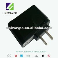 10w 5V 2a mini usb power adapter ,folding plug usb charger,wall mounted adapter