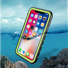 Manufacture custom IP68 cell <strong>phone</strong> covers waterproof <strong>mobile</strong> <strong>phone</strong> case for iphone X XS