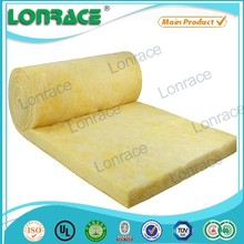 Good Service Improve Indoor Air Quality Double Side Aluminium Foil Fiber Glass Wool Blanket