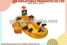 PVC inflatable playground pirate ships EN71 approved