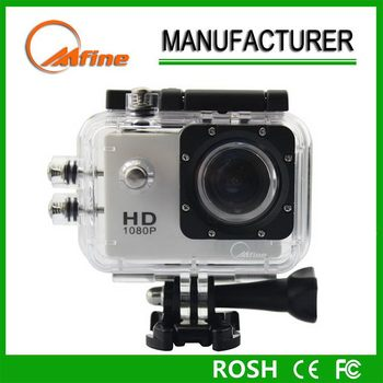 Customized full hd sports camera, action cam,waterproof sport car dv