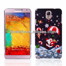 FL3062 2013 Guangzhou new arrival santa claus merry christmas cell phone case for samsung galaxy note 3 n9000