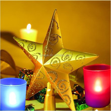 Led indoor household indoor gift holiday artificial decorative electric christmas candle light