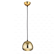 Apple pendant lamp, gold light