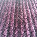100% Rayon shiny yarn dyed houndstooth fabrics, bicolor knitting houndstooth fabrics