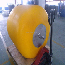 Rotational mooring buoys and ocean navigation markers