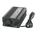 24V120Ah LiFePo4 Batterie Charger with Euro Plug 230Vac