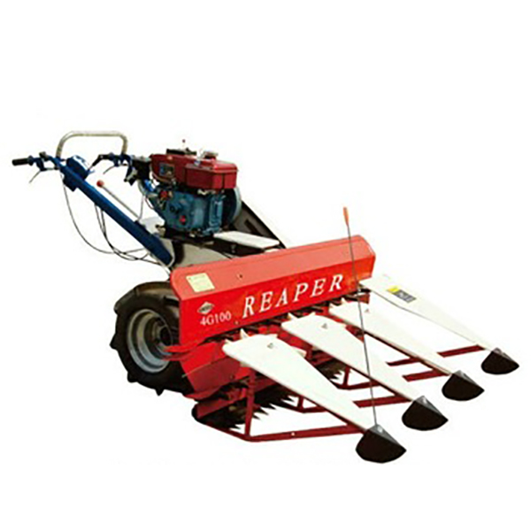 new 4G100 low price of rice harvester