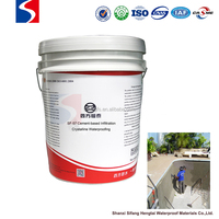 Cement-based Permeable Crystallization Type Waterproof Coating