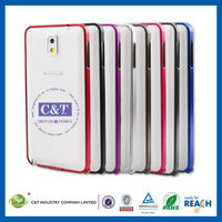C&T New metal bumper case for samsung galaxy note 3 n9000