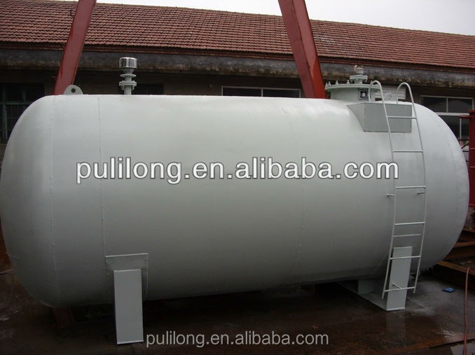 ASME standard carbon steel gas or oil tank /pressure vessel made by pulilong/pressure vessel with ASME certificate