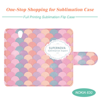 Sublimation Flip Cell Phone Case for Nokia 630