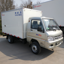 Mini Refrigerated Cold Room Storage Van Truck For Sale