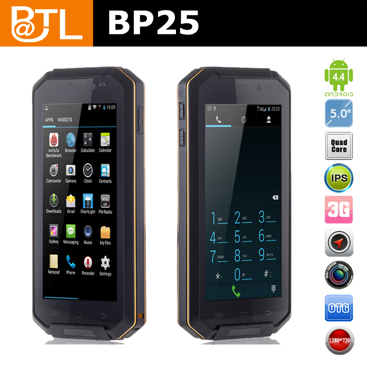 BATL BP25 Quad Core OGS Screen rugged cdma phone best military grade rugged cell phone Rugged Phone