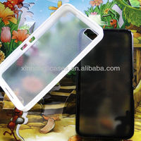2013 New Arrival TPU&PC for Blackberry Z10 Basic Case Cover ,Mobile phone cover case for BB Z10