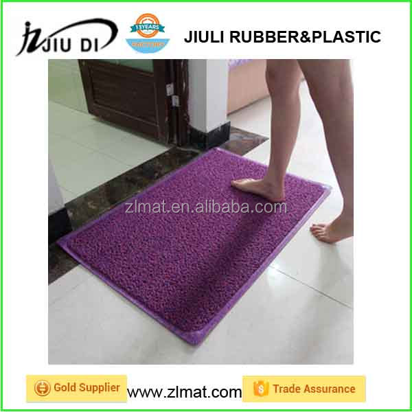 pvc coil door mat/ anti dust moving mat pvc coil carpet