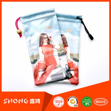 travelling mobile camera lens protecting drawstring bag
