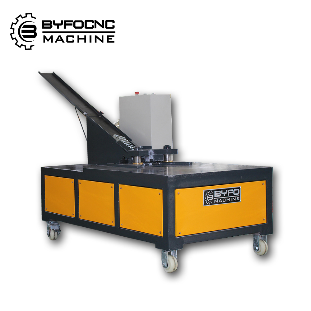 BYFO brand duct work corner mounting machine,air pipe/air duct tube duct manufacture auto line