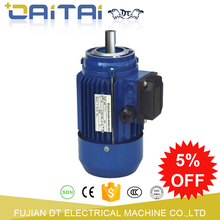 Electrical small size powerful three phase motor
