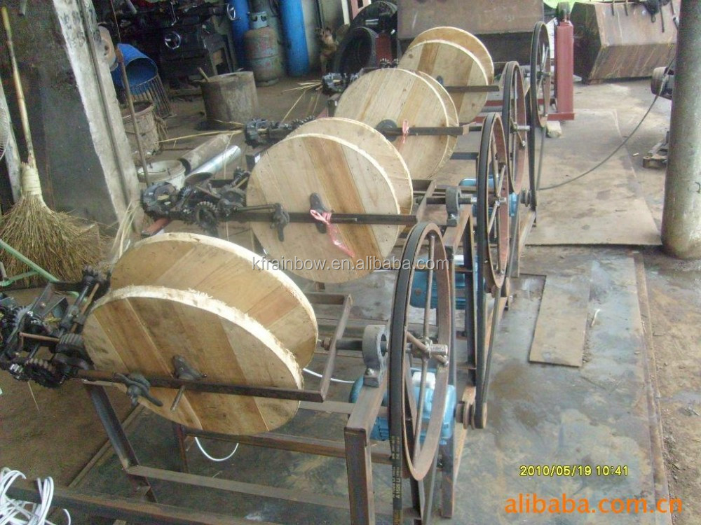 Best Quality Straw Making Machine/Rope Braiding Machine/Rice Straw Mat Knitting Machine