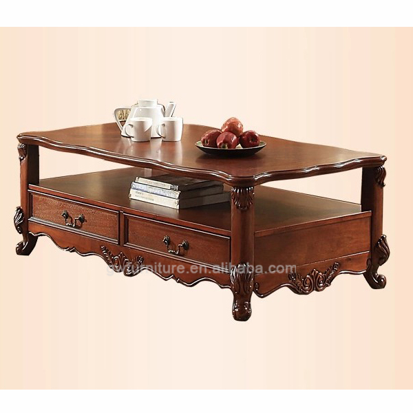 <strong>antique</strong> hand carved hard wood living room coffee <strong>table</strong>
